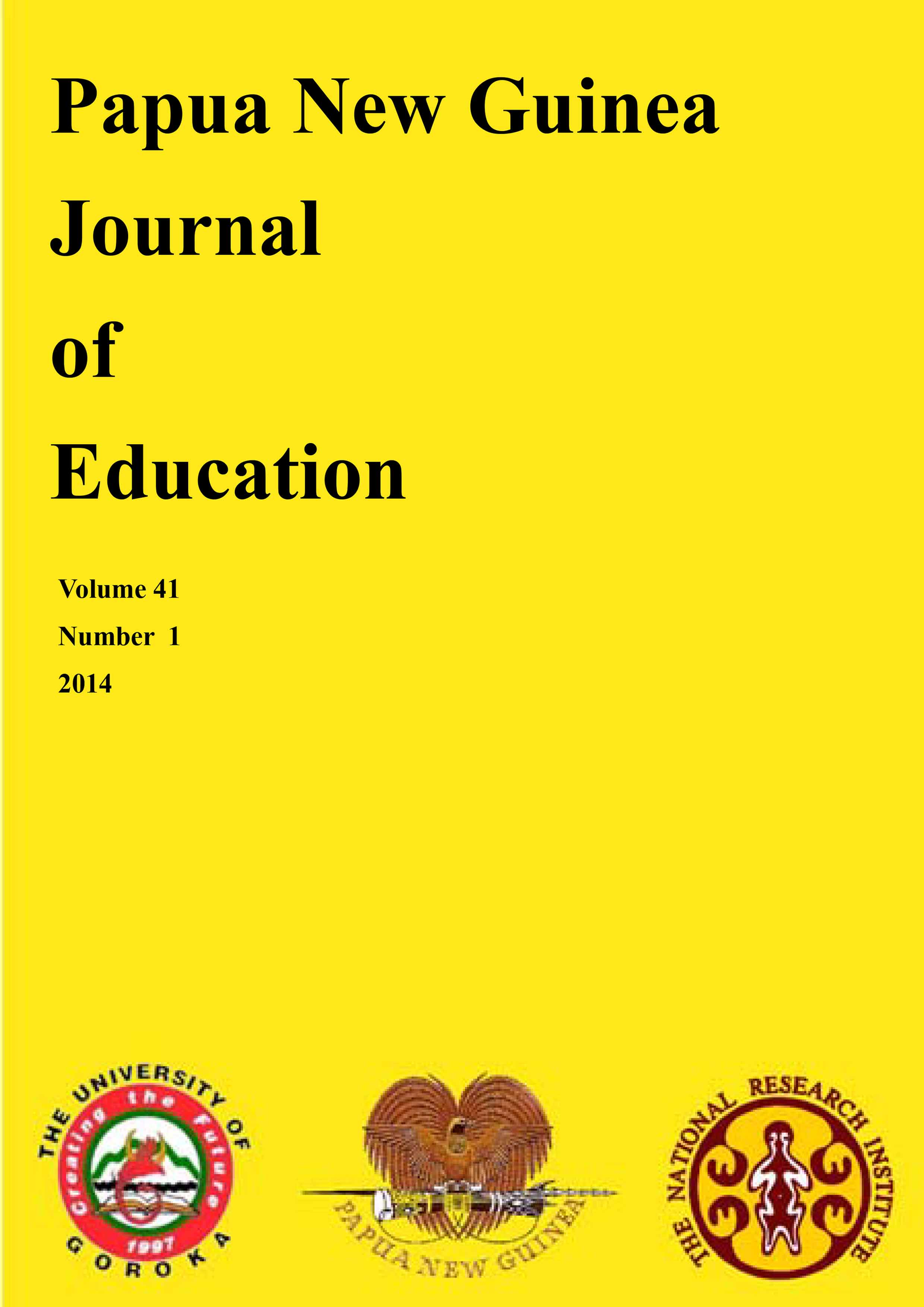 OP PNG Journal of Education